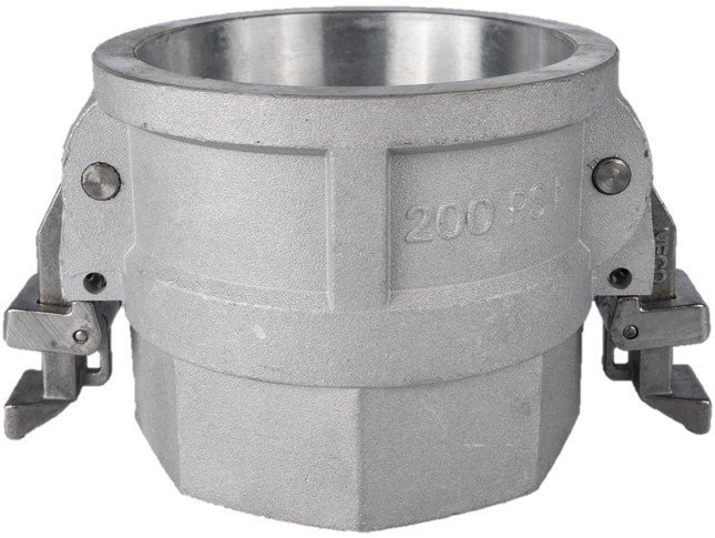 Heavy wall double lock aluminum couplings national