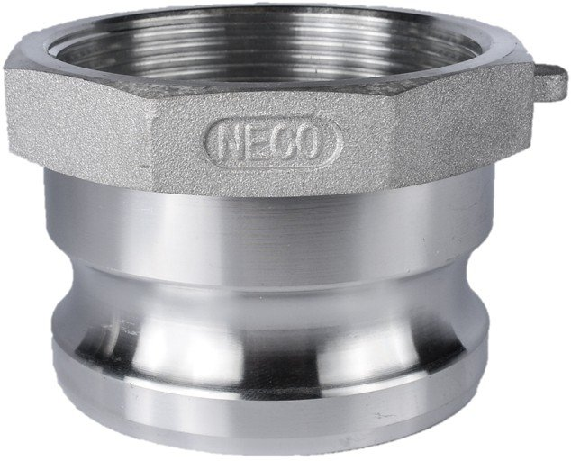 Male adapter female npt aluminum neco